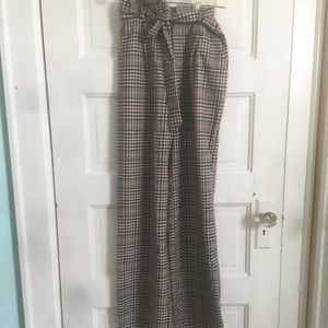 Long, patterned pants from Forever 21.